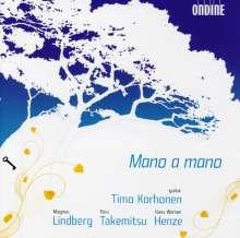 Timo Korhonen - Mano a mano, CD