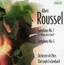 Albert Roussel (1869-1937): Symphonien Nr.1 & 4, CD