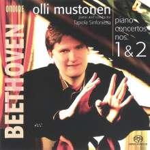 Ludwig van Beethoven (1770-1827): Klavierkonzerte Nr.1 & 2, SACD