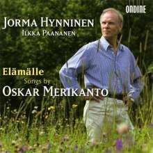 Oskar Merikanto (1868-1924): Klavierlieder, CD