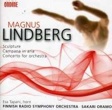 Magnus Lindberg (geb. 1958): Konzert für Orchester, CD