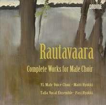Einojuhani Rautavaara (geb. 1928): Sämtliche Werke für Männerchor, 2 CDs