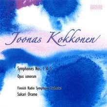 Joonas Kokkonen (1921-1996): Symphonien Nr.1 & 2, CD
