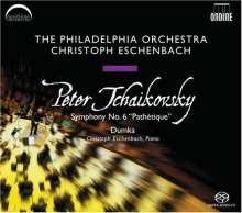 Peter Iljitsch Tschaikowsky (1840-1893): Symphonie Nr.6, Super Audio CD