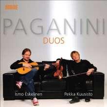 Niccolo Paganini (1782-1840): Duos für Violine & Gitarre, CD