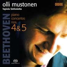 Ludwig van Beethoven (1770-1827): Klavierkonzerte Nr.4 & 5, SACD