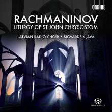 Sergej Rachmaninoff (1873-1943): Liturgie des Hl.Joh.Chrysostomus op.31, Super Audio CD