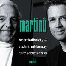 Bohuslav Martinu (1890-1959): Klavierkonzerte Nr.2 & 4, CD