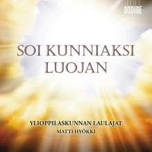 Soi Kunniaksi Luojan, CD