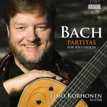 Johann Sebastian Bach (1685-1750): Partiten BWV 1002,1004,1006 für Gitarre, 2 CDs