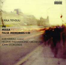 Jukka Tiensuu (geb. 1948): Missa für Klarinette & Orchester, CD