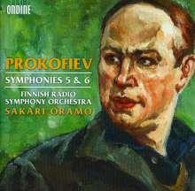 Serge Prokofieff (1891-1953): Symphonien Nr.5 & 6, CD