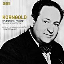 Erich Wolfgang Korngold (1897-1957): Symphonie op.40, CD