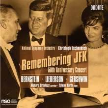 Remembering JFK - 50th Anniversary Concert, 2 CDs