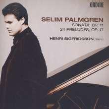 Selim Palmgren (1878-1951): Klaviersonate op.11, CD
