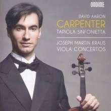 Josef Martin Kraus (1756-1792): Violakonzerte G-Dur,C-Dur,Es-Dur (VB 153a-c), CD