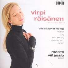 Virpi Räisänen - The Legacy of Mahler, CD