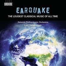 Helsinki Philharmonic Orchestra - The Earquake Experience, CD