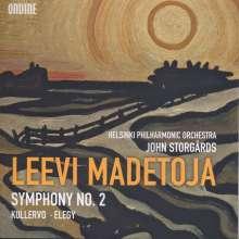 Leevi Madetoja (1887-1947): Symphonie Nr.2, CD