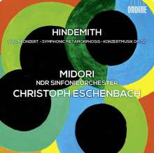 Paul Hindemith (1895-1963): Violinkonzert (1939), CD