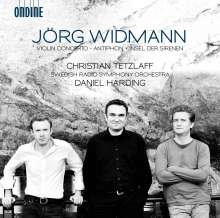 Jörg Widmann (geb. 1973): Violinkonzert, CD