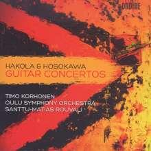 Kimmo Hakola (geb. 1958): Gitarrenkonzert, CD