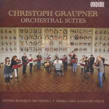 Christoph Graupner (1683-1760): Orchestersuiten, CD