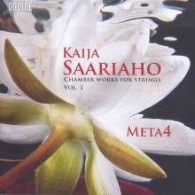 Kaija Saariaho (geb. 1952): Kammermusik für Streicher Vol.1, CD