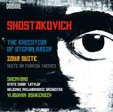 Dmitri Schostakowitsch (1906-1975): Die Hinrichtung des Stephan Rasin op.119, CD