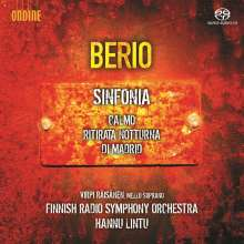 Luciano Berio (1925-2003): Sinfonia, SACD
