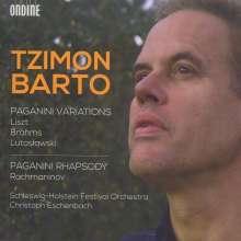 Tzimon Barto - Paganini Variations / Paganini Rhapsody, 2 CDs