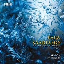 Kaija Saariaho (geb. 1952): Kammermusik für Streicher Vol.2, CD