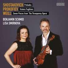 Benjamin Schmid & Lisa Smirnova - Schostakowitsch / Prokofieff / Weill, CD
