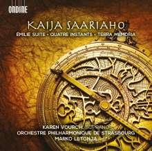 Kaija Saariaho (geb. 1952): Werke, CD