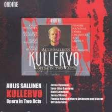Aulis Sallinen (geb. 1935): Kullervo, 3 CDs
