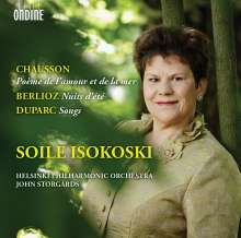 Soile Isokoski - Chausson / Berlioz / Duparc, CD