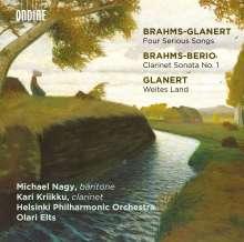Detlev Glanert (geb. 1960): Weites Land, CD