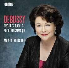 Claude Debussy (1862-1918): Preludes Heft 2, CD