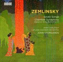 Alexander von Zemlinsky (1871-1942): Kammersymphonie (nach dem Streichquartett Nr.2), CD