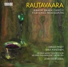 Einojuhani Rautavaara (1928-2016): Rubaiyat (Liederzyklus für Bariton & Orchester), CD