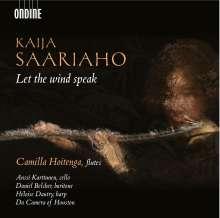Kaija Saariaho (geb. 1952): Kammermusik mit Flöte, CD