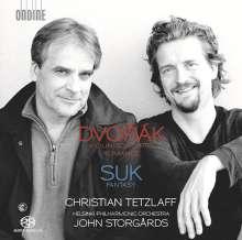 Josef Suk (1874-1935): Fantasie g-moll op.24 für Violine & Orchester, Super Audio CD