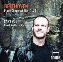 Ludwig van Beethoven (1770-1827): Klavierkonzerte Nr.1 & 5, CD