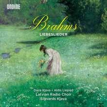 Johannes Brahms (1833-1897): Vokalquartette op.64 Nr.1 & 2, op.92, CD