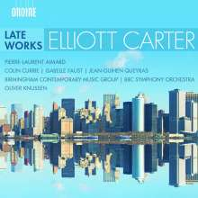 Elliott Carter (1908-2012): Elliott Carter - Late Works, CD