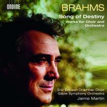 "Johannes Brahms (1833-1897): Chorwerke ""Song of Destiny"", CD"