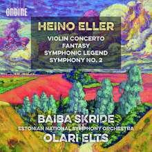 Heino Eller (1887-1970): Violinkonzert h-moll, CD