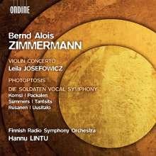 Bernd Alois Zimmermann (1918-1970): Die Soldaten (Vocal Symphony), CD