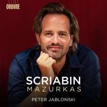 Alexander Scriabin (1872-1915): Mazurken opp.3,25,40, CD