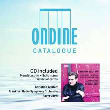 Christian Tetzlaff spielt Violinkonzerte (mit Ondine-Katalog 2019), CD